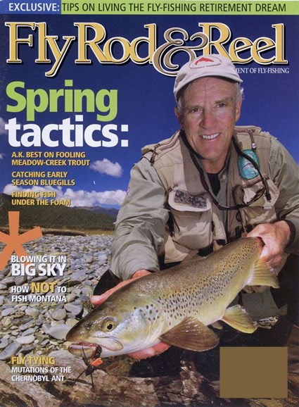 Fly Rod & Reel Magazine Cover - 4/1/2006