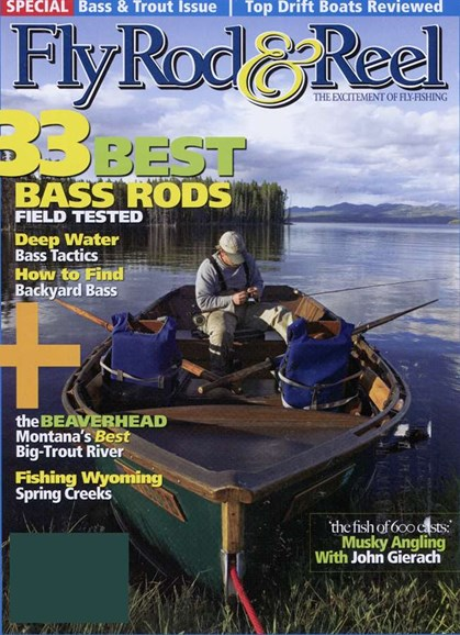 Fly Rod & Reel Magazine Cover - 6/1/2006