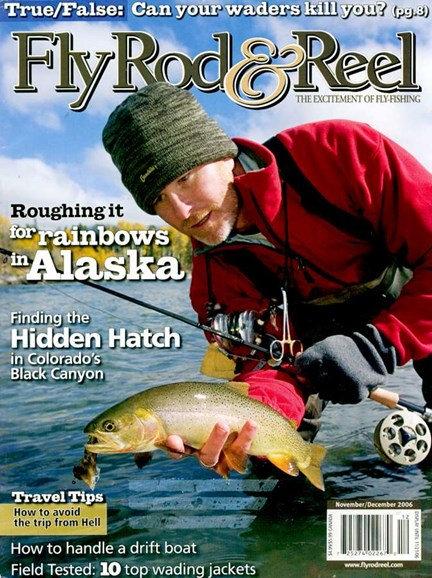 Fly Rod & Reel Magazine Cover - 12/1/2006