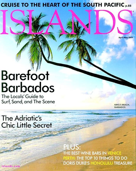 Islands Cover - 4/1/2004
