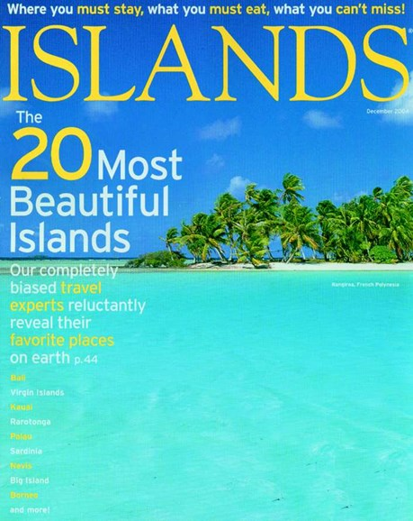 Islands Cover - 12/1/2004