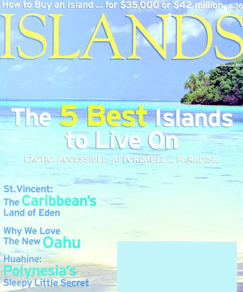 Islands Cover - 8/1/2005