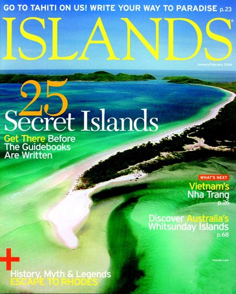 Islands Cover - 2/1/2006