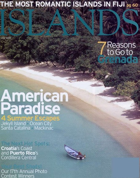 Islands Cover - 6/1/2006