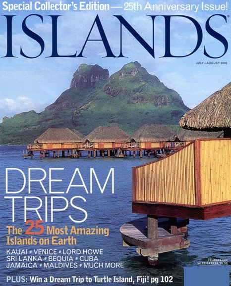 Islands Cover - 8/1/2006