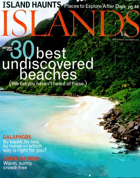 Islands Cover - 10/1/2006