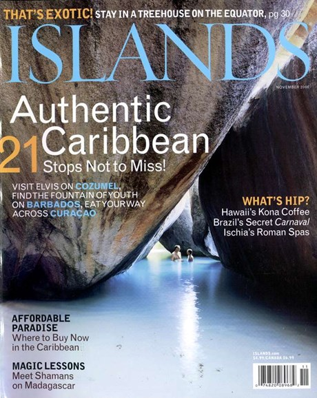 Islands Cover - 11/1/2006