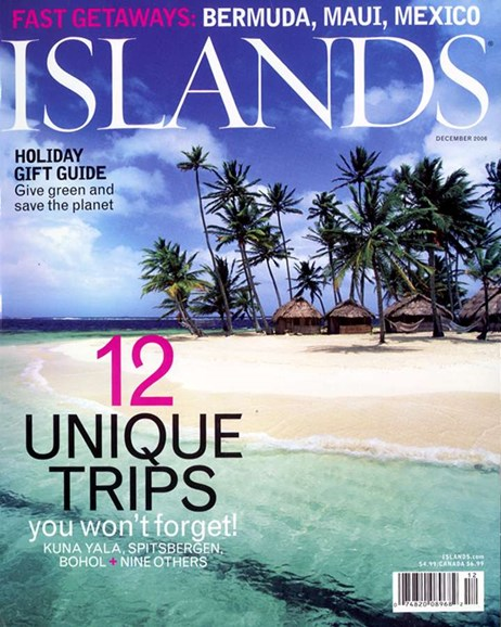 Islands Cover - 12/1/2006