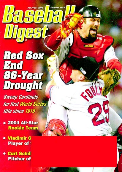 Baseball Digest Cover - 1/1/2005