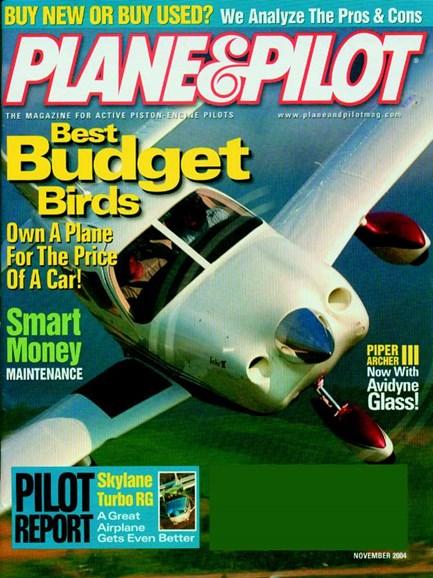 Plane & Pilot Cover - 11/1/2004