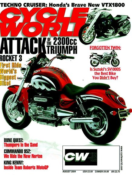 Cycle World Cover - 8/1/2004