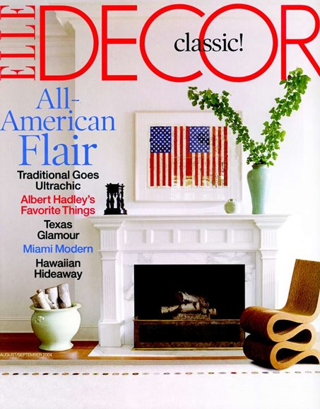 ELLE DECOR Cover - 8/1/2004