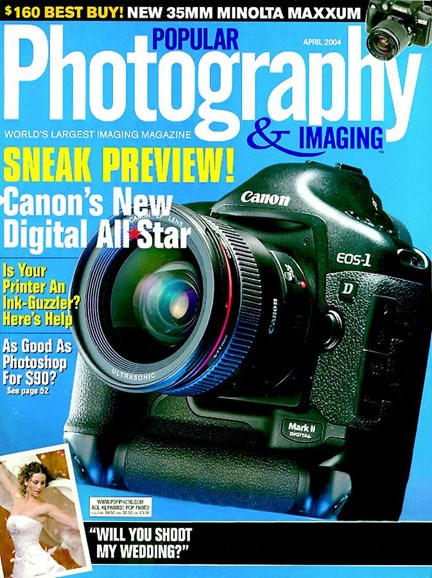 Popular Photography Cover - 4/1/2004