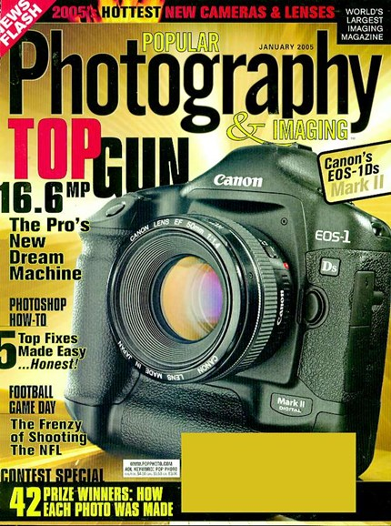 Popular Photography Cover - 1/1/2005
