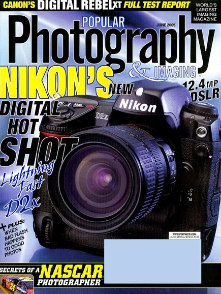 Popular Photography Cover - 6/1/2005