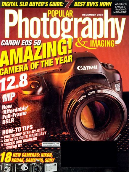 Popular Photography Cover - 12/1/2005