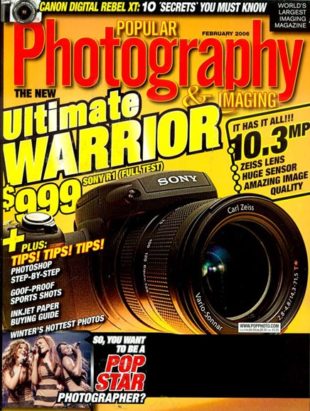 Popular Photography Cover - 2/1/2006