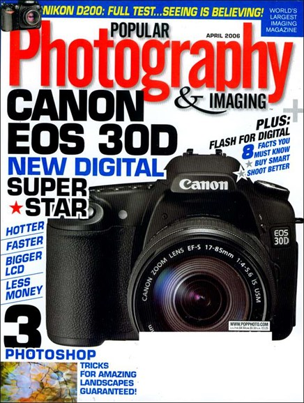 Popular Photography Cover - 4/1/2006