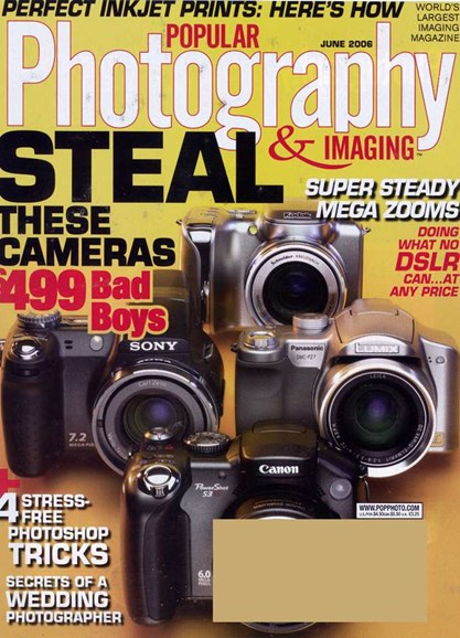 Popular Photography Cover - 6/1/2006