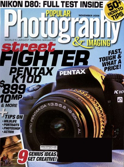 Popular Photography Cover - 11/1/2006