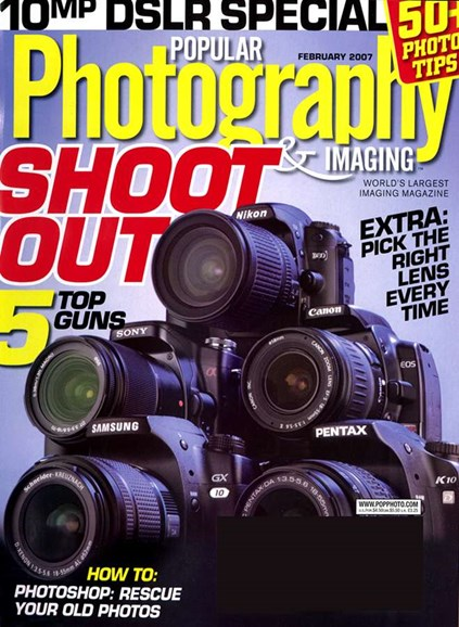 Popular Photography Cover - 2/1/2007