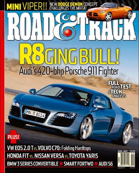 Road & Track Cover - 5/1/2007