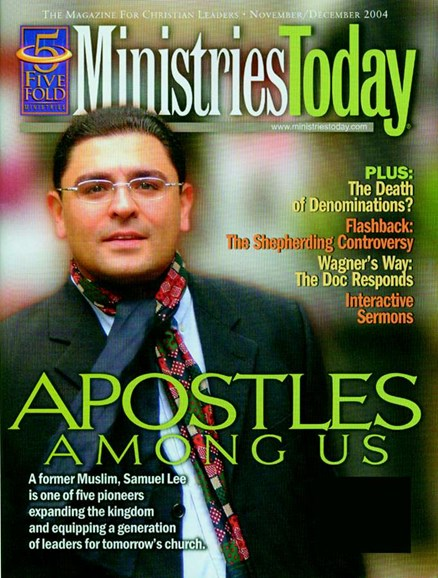 Ministry Today Cover - 12/1/2004