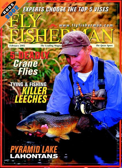 Fly Fisherman Cover - 2/1/2002