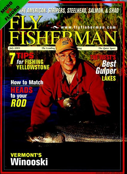 Fly Fisherman Cover - 7/1/2003