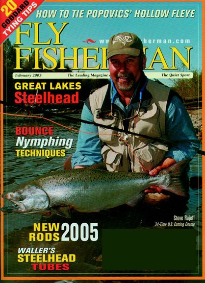 Fly Fisherman Cover - 2/1/2005