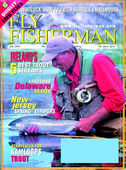 Fly Fisherman Cover - 7/1/2005