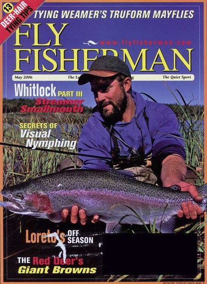 Fly Fisherman Cover - 5/1/2006