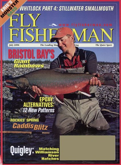 Fly Fisherman Cover - 7/1/2006
