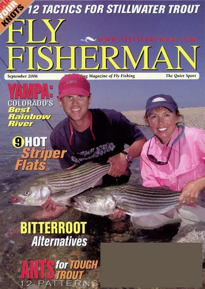 Fly Fisherman Cover - 9/1/2006