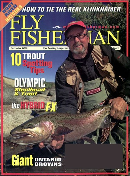 Fly Fisherman Cover - 12/1/2006