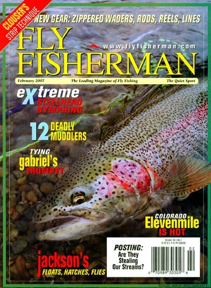 Fly Fisherman Cover - 2/1/2007