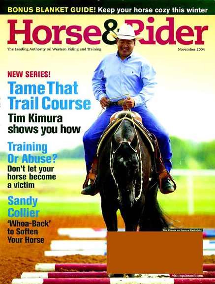 Horse & Rider Cover - 11/1/2004