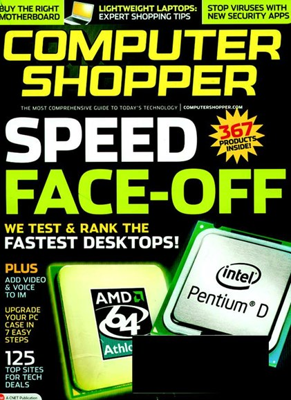 Computer Shopper Cover - 2/1/2006