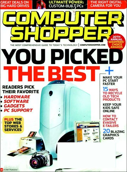 Computer Shopper Cover - 3/1/2006
