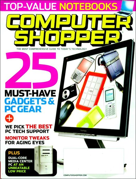 Computer Shopper Cover - 4/1/2006