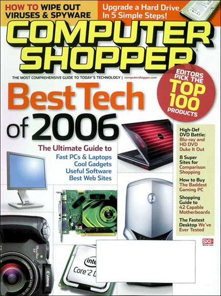 Computer Shopper Cover - 11/1/2006