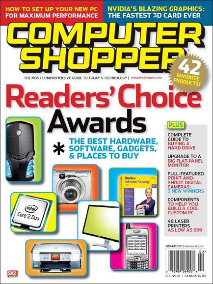 Computer Shopper Cover - 2/1/2007