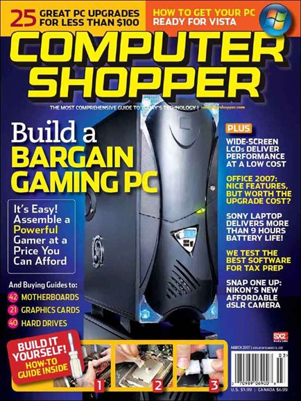 Computer Shopper Cover - 3/1/2007