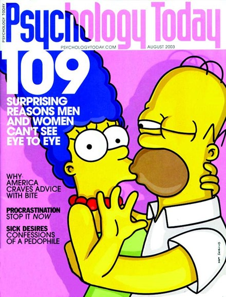 Psychology Today Cover - 8/1/2003