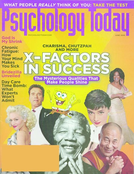 Psychology Today Cover - 6/1/2005