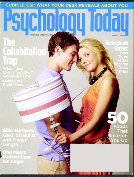 Psychology Today Cover - 8/1/2005
