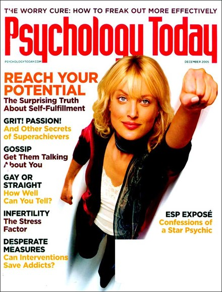 Psychology Today Cover - 12/1/2005