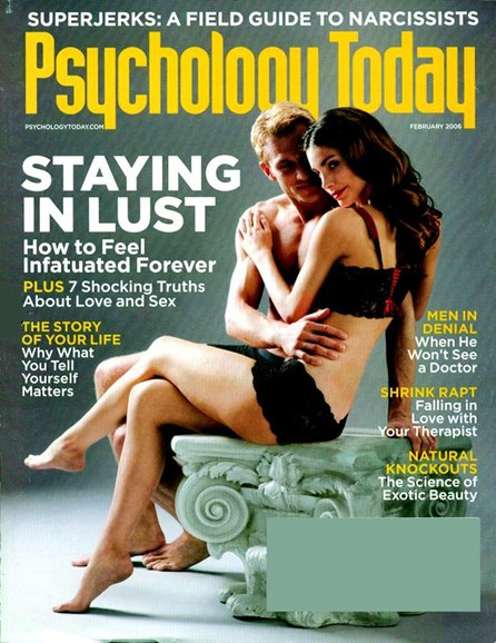 Psychology Today Cover - 2/1/2006