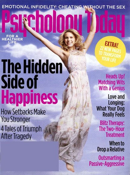 Psychology Today Cover - 4/1/2006