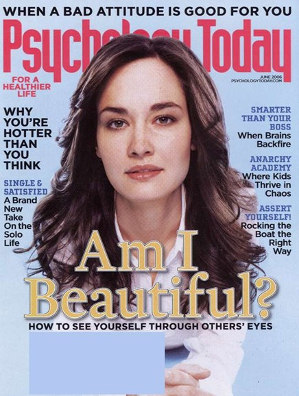 Psychology Today Cover - 6/1/2006
